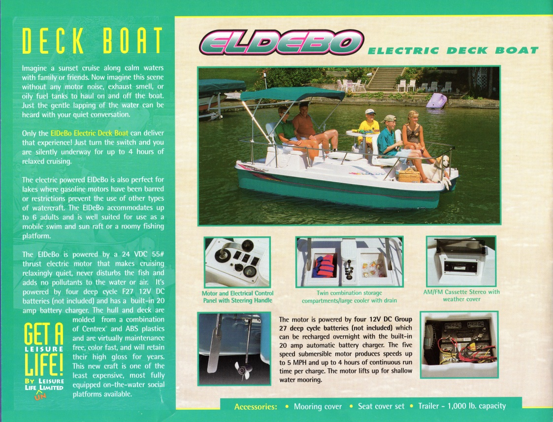Eldebo 1998 Sales Brochure Escboats Com Leisure Life Ltd