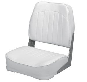 Swivel Seat - All White Vinyl