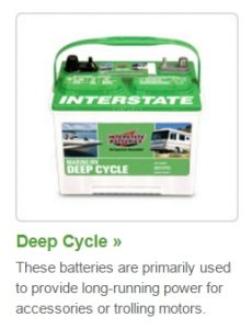 Interstate Marine Battery - Deep Cycle