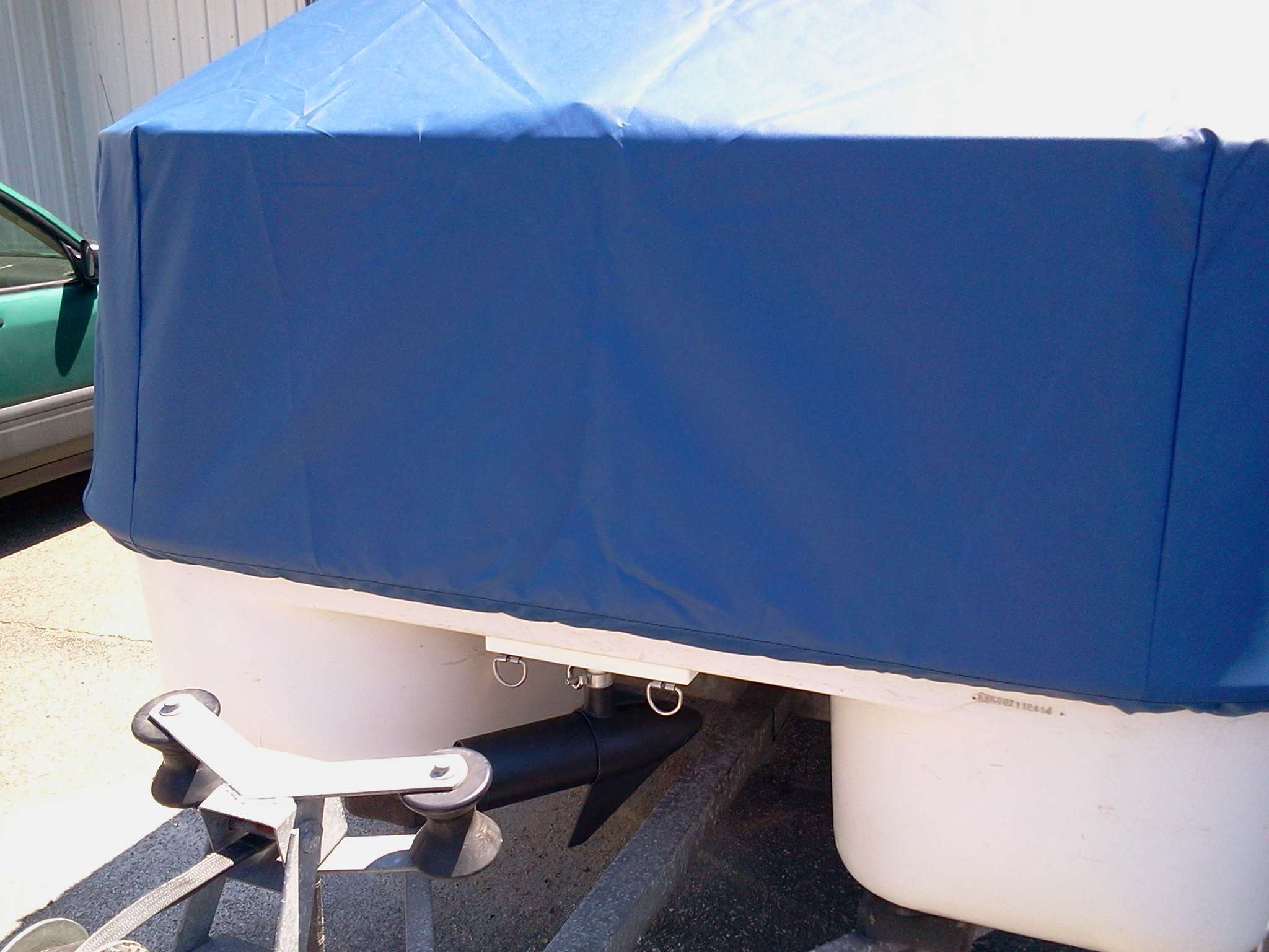 Electric Deckboat Mooring Storage Component Covers By